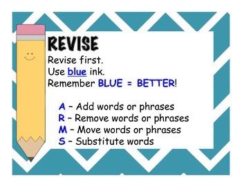 Revising and Editing