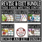 Revising and Editing Task Cards BUNDLE- Writing Center Activity