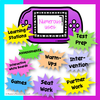Revising and Editing Bundle * *Intro Price* * Digital Task Cards for All Year