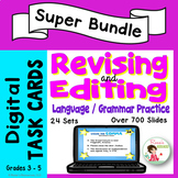Revising and Editing Practice * Digital Task Cards for Google Drive Bundle