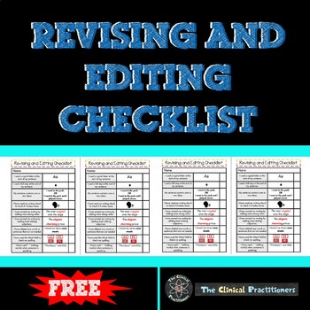 Revising and Editing Checklist