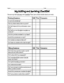 Revising and Editing Checklist for Research Essay - Middle School
