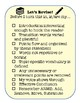 Revising and Editing Checklists (Printable - Great for Bulletin Boards!)