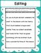 Revising and Editing - Digital Notebook (FILLABLE PDF)
