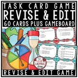 Revising and Editing Practice Task Card Game- Revise & Edit Activities