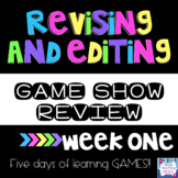 Revising and Editing Game Show Review