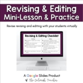 Revising and Editing Lesson & Practice
