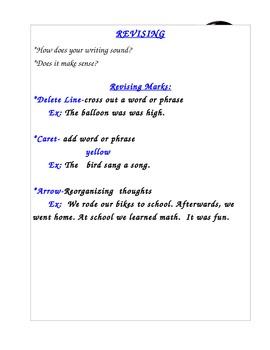 Revising and Editing Marks