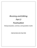 Revising and Editing Part 3
