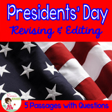 Presidents Day Revising and Editing