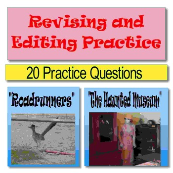 "Revising and Editing Practice, ""Roadrunners"" and ""The Haunted Museum"" PowerPoint"
