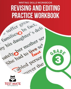 Revising and Editing Practice Workbook, Grade 3 (Common Core Writing)