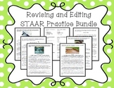 Revising and Editing STAAR Practice Bundle