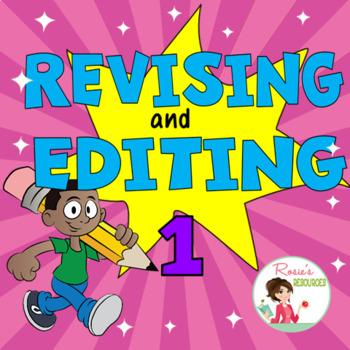 Revising and Editing Set 1 - Boom Cards