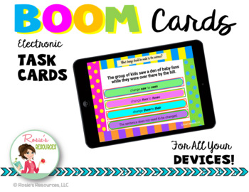 Revising and Editing Set 1 - Boom Cards