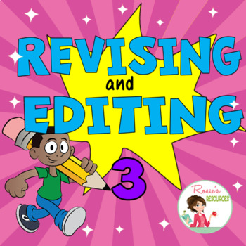 Revising and Editing Set 3 - Boom Cards