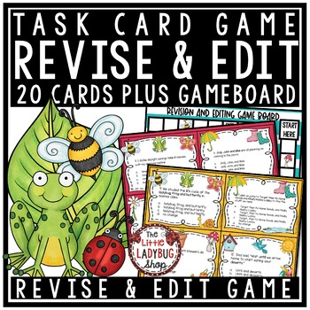 Revising and Editing - Spring Center Activity - STAAR Revi