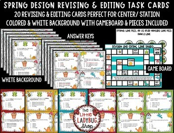 Revising and Editing - Spring Writing Center Activity