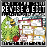 Revise & Edit Task Card Writing Test Prep ELA Revising & Editing Activities