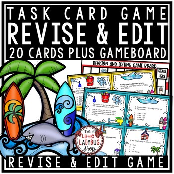 Revising and Editing - Summer Center Activity [ STAAR Writing]