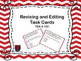 Revising and Editing TEKS 4.15c Task Cards