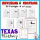 Revising and Editing Texas History Theme