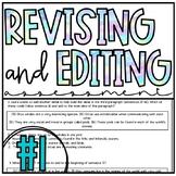 Revising and Editing Assessment : STAAR Prep : TEKS Aligned
