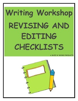 Revising and Editing Writing Checklists