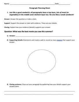 Revising and Editing a Paragraph