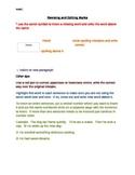 Revising and Editing handouts