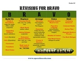 Revising for Bravo - 6-8 Revising Checklist