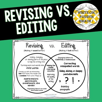 First Grade Wow: Revising and Editing! Another Redo!