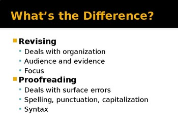 Revising vs Proofreading: Knowing the Difference and Making the Grade