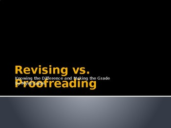 Revising vs Proofreading: Knowing the Difference and Makin