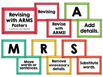 Revising with ARMS Posters