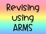 Revising with ARMS and Editing with CUPS Powerpoint Presentation