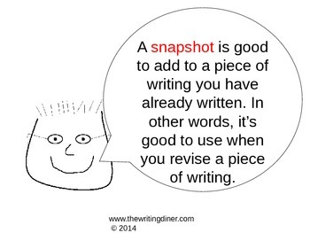 Revising with Snapshots from The Writing Diner