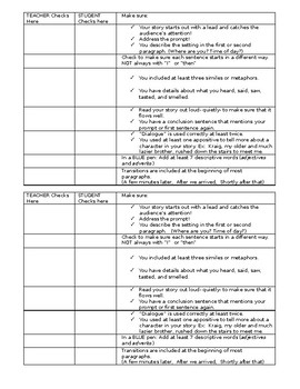 Revision Checklist (Editable)