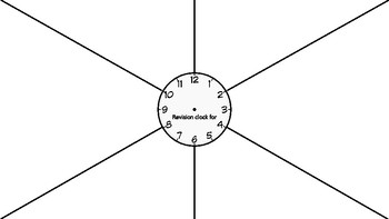 Revision Clock Template