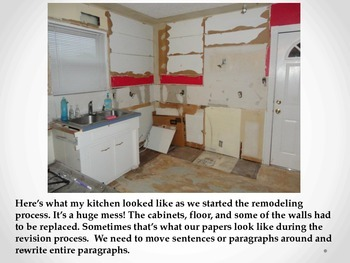Revision Compared to Remodeling