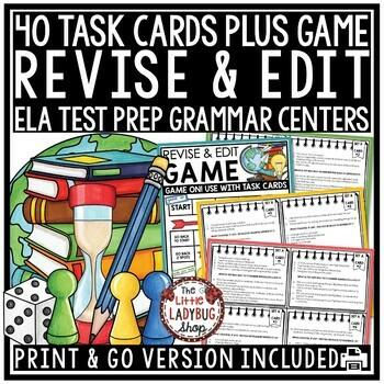 Revising and Editing Task Card Game