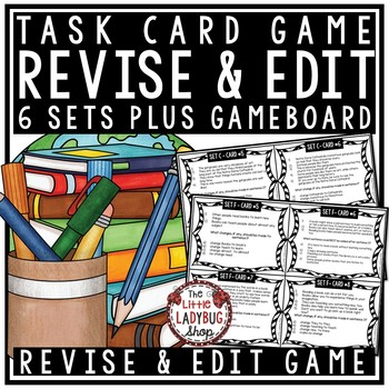 Revising and Editing Practice Task Card Revise and Edit Writing Test Prep