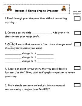 Revision Graphic Organizer
