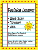 Revision Lessons Bundle: Word Choice, Structure, and Voice