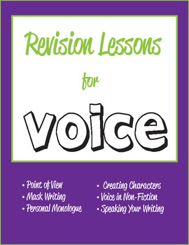 Revision Lessons for Voice in the Writer's Workshop - Comm