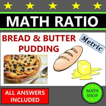 Revision -Maths –Recipe for Bread & Butter Pudding – Proportion – Ratio – Metric