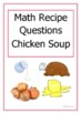 Revision - Maths – Recipe for Chicken Soup – Proportion – Ratio - Metric