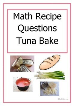 Revision - Maths – Recipe for Tuna Bake – Proportion – Ratio - Metric