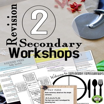Revision Strategy Menus for Writing Grades 6-12