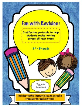 Revision Protocols for Writing